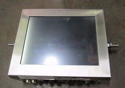 Comark Pcm415 Lcd Industrial Touchscreen Panel Pc Stainless Ss Encolosure