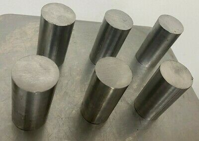 1045 Steel Bar 1.50 Round Bar Turned And Polished X 3 Length 6 Pc Lot