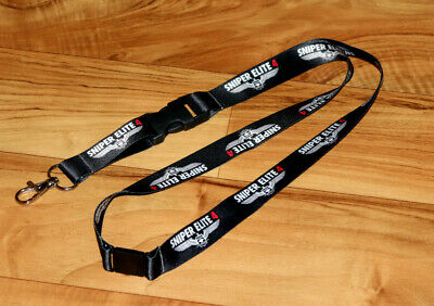 Sniper Elite 4 Rare Promo Lanyard Key Holder Xbox One Playstation 4 PS4 , usado segunda mano  Embacar hacia Mexico