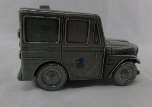 Pewter US Postal Jeep Bank