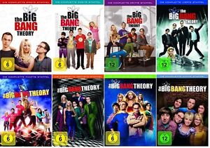The Big Bang Theory Season/Staffel 1+2+3+4+5+6+7+8 * DVD Set NEU