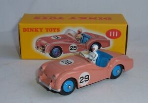 Atlas-Dinky-Toys-No-111-Triumph-TR2-Sports-Superb-Mint