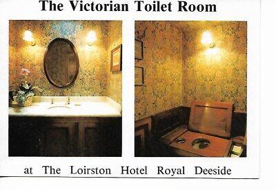 VICTORIAN TOILET ROOM, LOIRSTON HOTEL, BALLATER, ABERDEENSHIRE.
