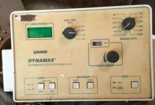 Rainin Dynamax UV-C Absorbance Detector Lab Laboratory