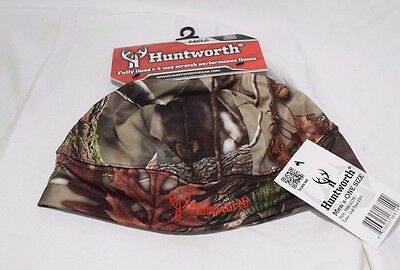 Mens Huntworth Waterproof Oaktree Evo Camo Fleece Beanie Lined Hunting Cap Hat