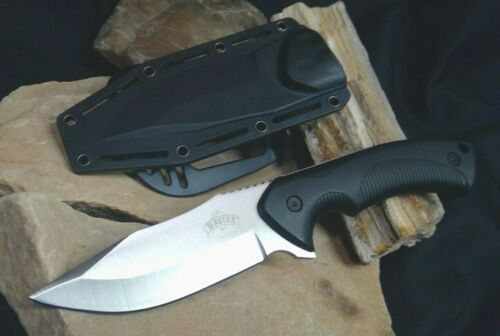 Fixed Blade Knife with Hard Cover Sheath Outdoor Camping Hiking Knife Master USA