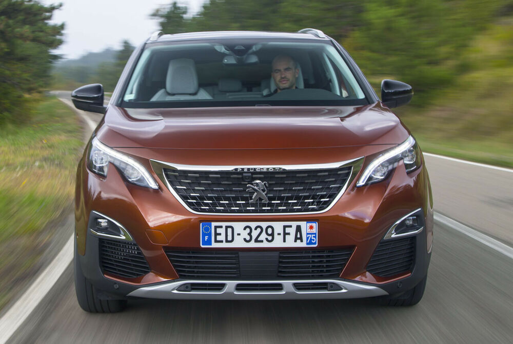 Peugeot 3008: Frontansicht
