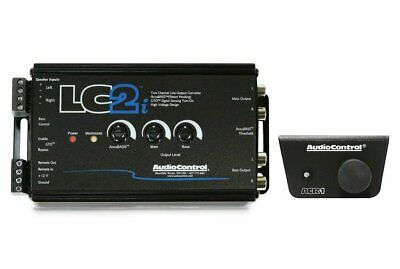 AudioControl LC2i, 2 Channel Line-Output Converter with AccuBASS w/ Bass Control
