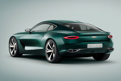 """""""It could be a future model line, alongside the Continental GT"""", heißt es in der Pressemitteilung zum Bentley EXP 10 Speed 6"""