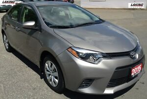 2015 Toyota Corolla LE RELIABLE & ECONOMICAL HEATED SEATS One Ow