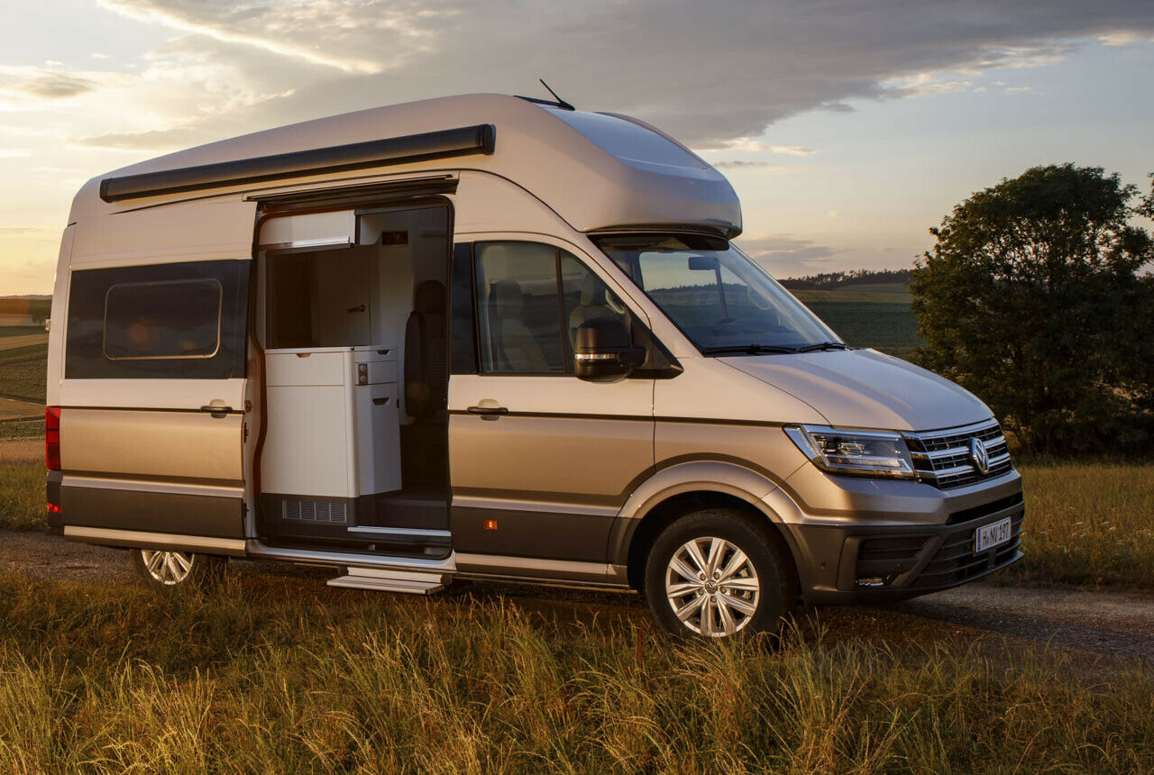 VW Grand California (10): Details zum Crafter-Camper