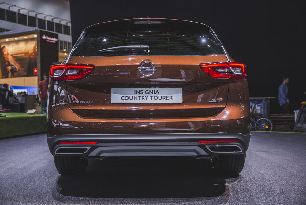 Opel Insignia Country Tourer: Heck
