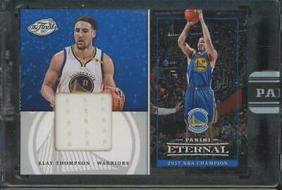 2017 Panini Eternal The Finals #PEF2 Klay Thompson 1/25 Jersey