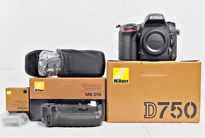 NEW Nikon D750 Body w/ FREE MB-D16 Grip & Extra EN-EL15 battery + MORE!