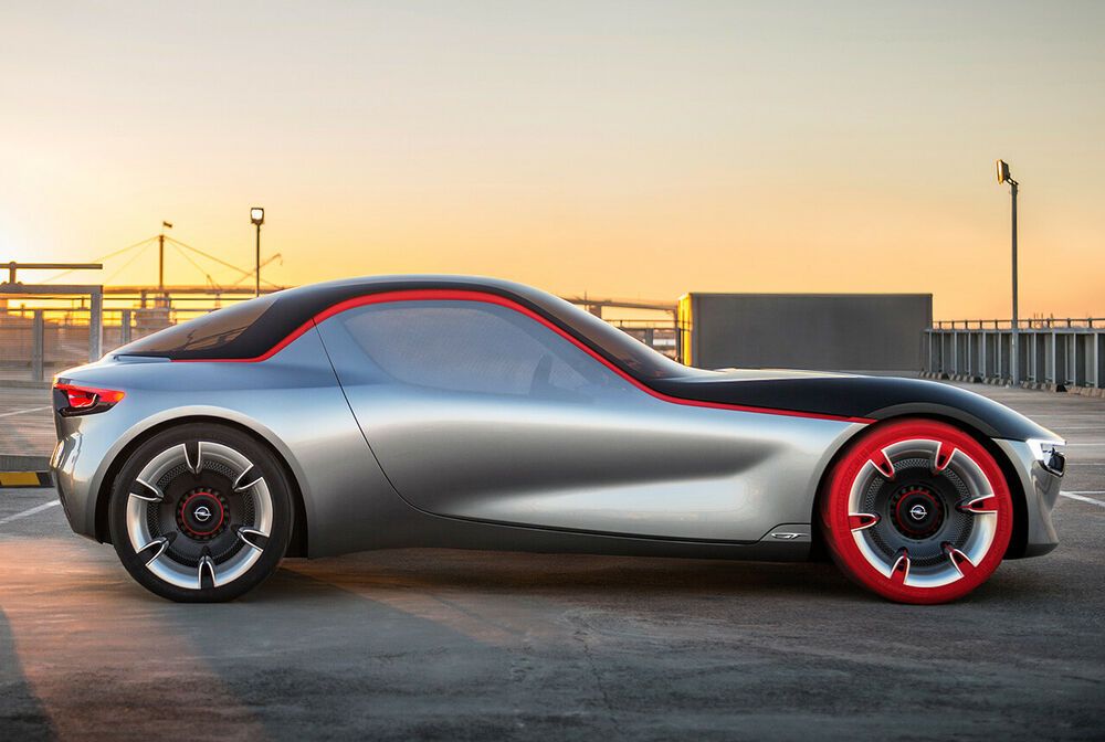 Opel GT Concept: Silhouette