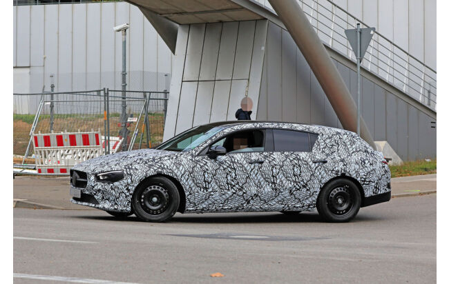 Mercedes Cla Shooting Brake 2019 Kombi Als Erlkonig