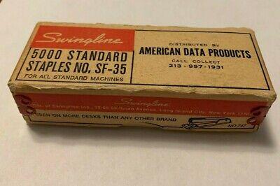 Vintage Swingline Staples 5000 Standard Sf-35 American Data Products