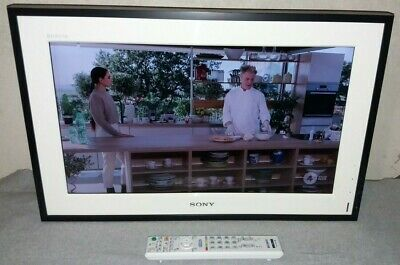 """TV LCD 22"""" SONY BRAVIA HD BIANCO HDMI DIGITALE TERRESTRE INTEGRATO"""