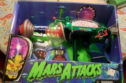 NEW & NRFP! MARS ATTACKS!  Martian Brain Disintegrator Gun ~ VG Packaging