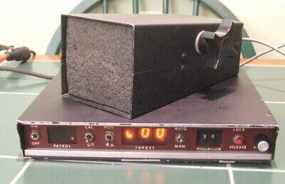 Vintage Mph Industries Police Vehicle Radar Unit