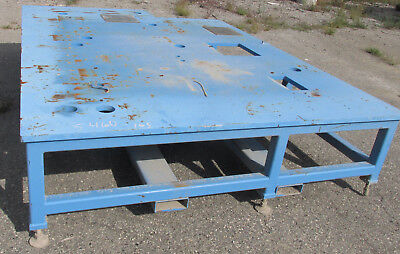Steel Welding Work Bench 94 X 132 X 27 2678dw