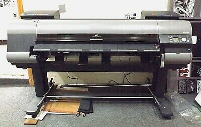 Canon Ipf8300 Imageprograf 44 Large Format Inkjet Printer Repair Or Parts
