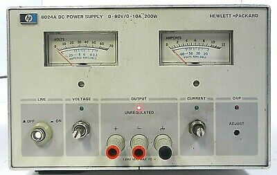 Agilent Hp 6024a Dc Power Supply - Free Shipping