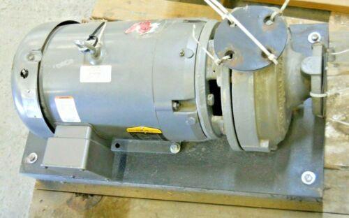 BALDOR MOTOR JMM3711T 10 HP, 3 PH,3450 RPM, 215JM FRAME  W/ FLOWSERVE #1009-1040