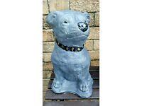 Staff Dog statues