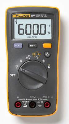 Fluke 107 Esp Palm-sized Digital Multimeter Cat Iii 600v