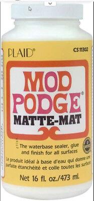 Mod Podge Matte Finish 16oz - FREE SHIPPING