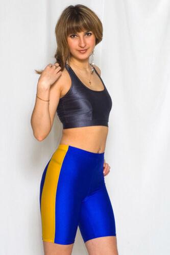 Bilelika 502-01 Spandex Long Unisex Shorts Side Insert Choose Your Size / Color
