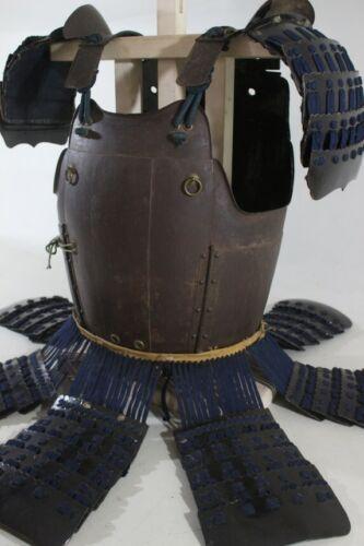 TETSUSABIJI TATEHAGI 2 Iron Plates DOU w/5 DAN ITA SODE of YOROI(armor) : EDO
