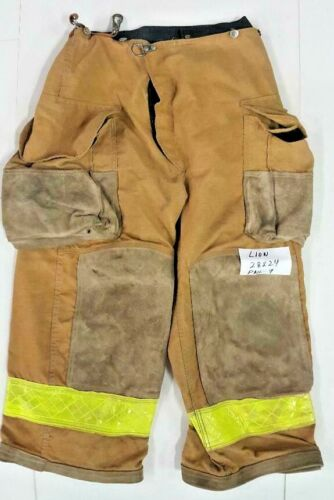 28x24 Lion Brown Pants Firefighter Turnout Bunker Fire Gear NO LINER PNL-9