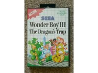 WONDER BOY III the dragon's trap SEGA MASTER SYSTEM