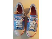 Converse all star canvas trainers. Size 4 1/2