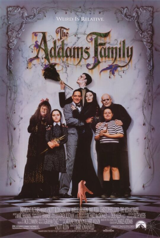 The Addams Family Motion Picture Screenplay