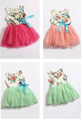 Baby Girls Dress Skirt Tutu Child Kids Clothing Christmas Gift Party - Christmas Kids Dress