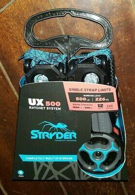 Stryder UX 500 Ratchet System 2 pack Straps - 12ft Straps -