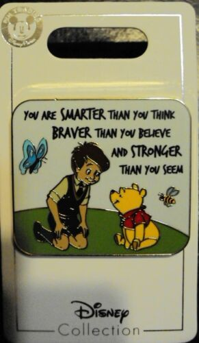 Disney Parks Winnie the Pooh and Christopher Robin Flair Pin