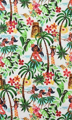 Fabric Leis (Fabric by the Yard - Alexander Henry - Leis, Luaus and Alohas)