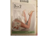 Bargain Luxury brand New Wolford Tights 3 packs for price of 2 SIze XL