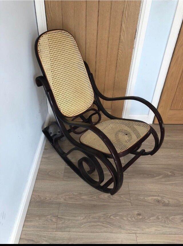 Superb Bentwood Rocking Chair Restoration Project In Derby Derbyshire Gumtree Machost Co Dining Chair Design Ideas Machostcouk