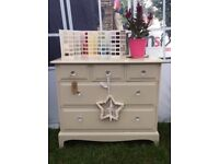 Beautiful stag Chest of Bedroom drawers