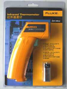 True-NEW-Fluke-59-F59-Mini-Handheld-Laser-IR-Infrared-Thermometer-Gun-18-275C
