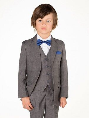 Royal Blue hanky and dickie bow