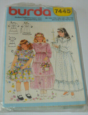sewing pattern dress childs wedding confirmation holy communion](Holy Communion Dress Patterns)