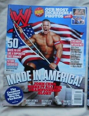 WWE MAGAZINE July 2011 John Cena