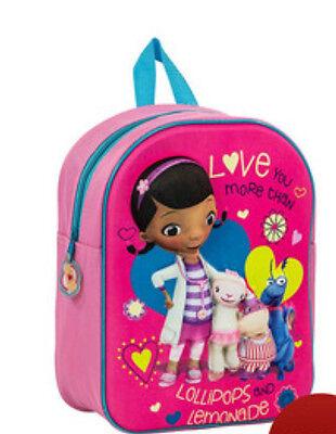 Doc McStuffins 3D Junior Backpack Rucksack Box13 08 c