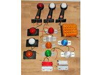 LED MARKER LIGHTS LAMPS BUNDLE 12-24V TRUCK LAMP TRAILER MOTORHOME CARAVAN 4x4.*